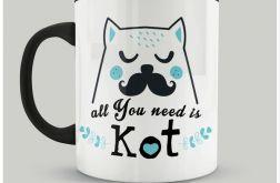 Kubek All You need is Kot II