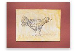 Ptaszek 11- rysunek dekoracyjny