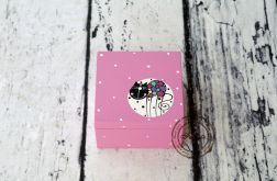 pudełko mini różowe