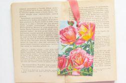 Zakładka do książki vintage  z różami