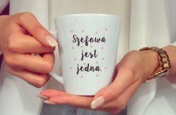 KUBEK Latte SZEFOWA JEST JEDNA1