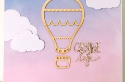 "Kartka balon ""creative life"""