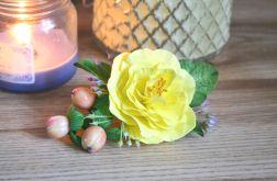 """SPINKA DO WŁOSÓW """"Cytrynowy kwiat"""""""
