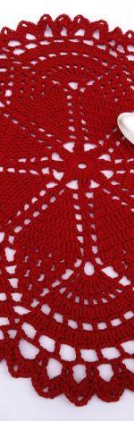 Czerwona serwetka 40 cm