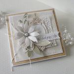 Urodzinowa kartka w pudełku  - 1 kwiat2