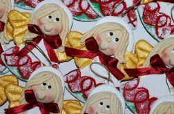 Chyba świąteczne - aniołki z masy solnej