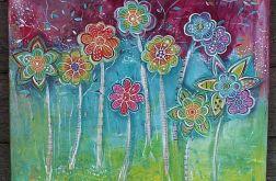 Kwiatowe drzewa