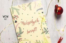 Oryginalna kartka świąteczna VINTAGE