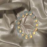 Bransoletka z naturalnego opalitu - Bransoletka z pięknymi refleksami