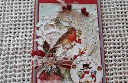 Kartka bożonarodzeniowa z kopertą