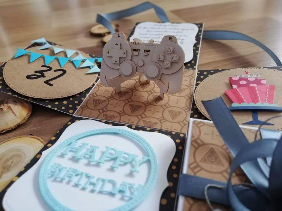 exploding box na urodziny