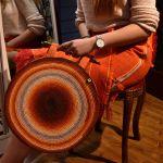 spódnica indiańska pomarańczowa
