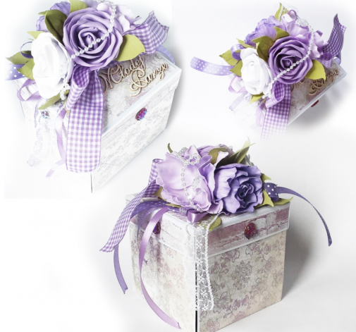 Exploding Box pudełko ślubne  + GRATIS