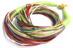 Naszyjnik sznurkowy kolor