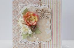 zestaw trzech kartek ślubnych A13
