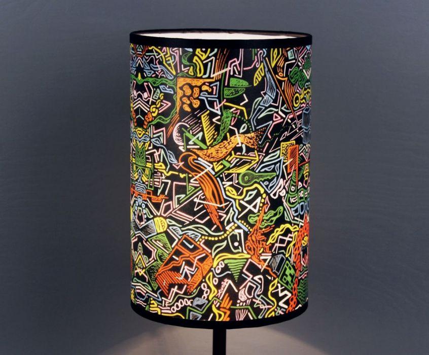 Inspirująca lampa nocna tAK sOBIE mYŚLĘ, żE M - Lampa daje ładne, rozproszone światło.