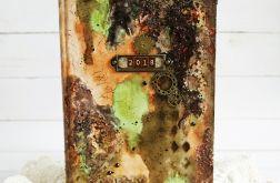 Kalendarz mediowy brązowy