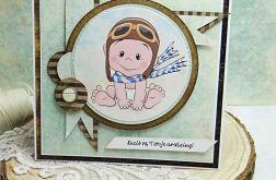 Kartka dla maluszka- z kopertą