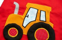 Traktorek -worek dla przedszkolaka