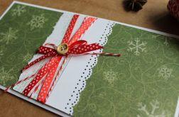 Kartka świąteczna Boże Narodzenie DL guzik