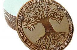 Zestaw x4 Podkładki pod kubek Celtyckie drzewo życia 1