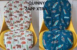 Dwustronny materacyk do Quinny Zapp Xtra.