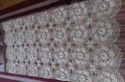 Serweta szydełkowa 65x120 w kolorze złotym