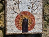 Mozaika ścienna + metal - IDUN