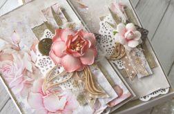 Romantyczny komplet pełen róż
