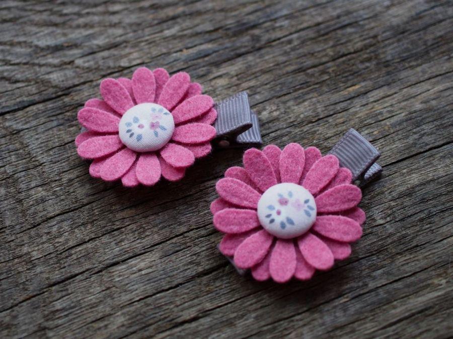 Spinki do włosów kwiatki 1026