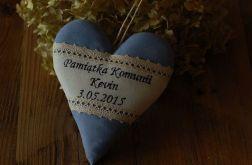 Pamiątka chrztu, komunii - niebieska