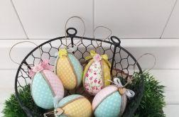 Jajka kolorowe pisanki ( mięta, żółte, róż)