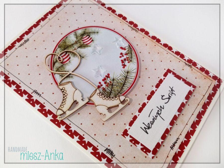 Wyjątkowa KARTKA ŚWIĄTECZNA - 71 - Boże Narodzenie, kartka, świąteczna