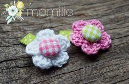 Momilio spineczki kwiatuszki baby 2