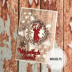 Kartka z reniferem 2