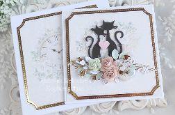 Ślubna kartka w pudełku 397
