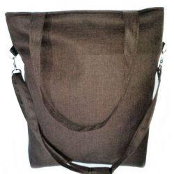 Torebka damska torba shopper jodełka