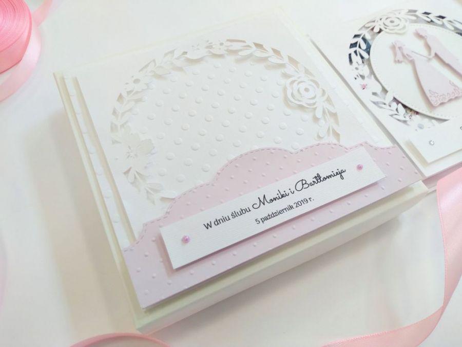 Kartka ślubna w pudełku - 03