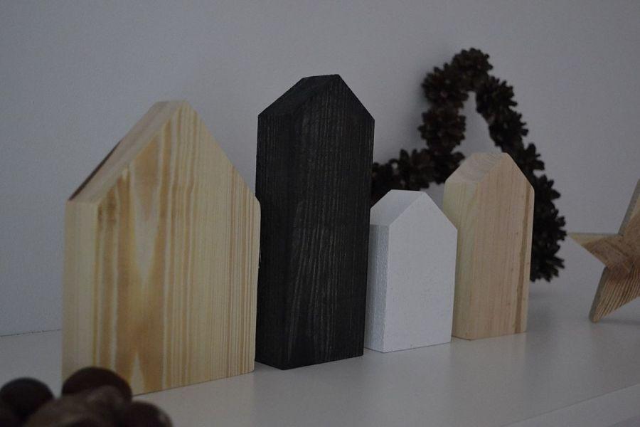 Drewniane domki zestaw III