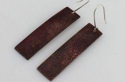 Żwirek - miedziane kolczyki 190215-02