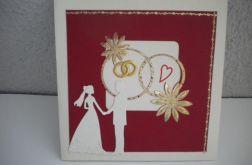 Nasz ślub - kartka