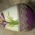 Duże jajo pisanka