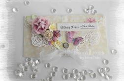 Kopertówka ślubna z fioletem #1