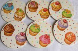 Podkładki Cup cake