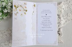 Ślubna kartka w pudełku 202