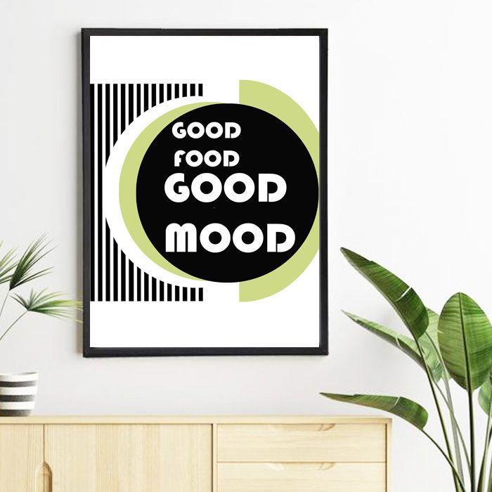 Plakat Good food Good mood