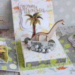 Exploding box urodziny z Dinozaurem 3D GOTOWY -