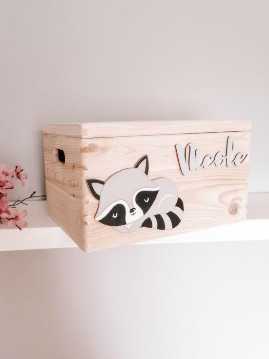 Skrzynka pudełko pojemnik na zabawki SZOP MAŁY - skrzyneczka pudełko na zanawki szop mały loo loo dream