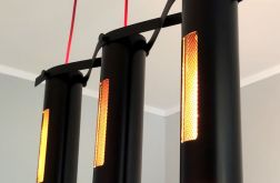 DNA - nowoczesna industrialna lampa sufitowa