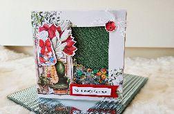 Kartka świąteczna- świąteczny moment, shaker card